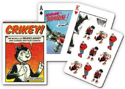 Comic Characters Playing Cards